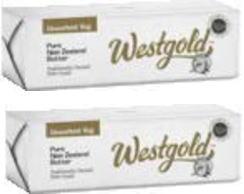 ニュージーランド産グラスフェッドバター1kg2個セット【冷凍】