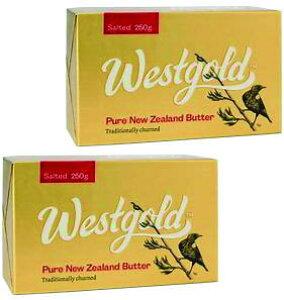 NZ産 グラスフェッドバター ウエストランド有塩バター 250g×2個セット ムラカワ