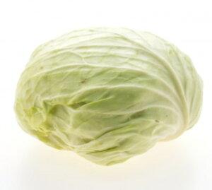 【ムソーの安心野菜】キャベツ 減農薬 1玉(バラ)