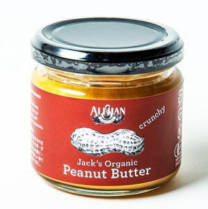Alishan ミニサイズ 有機ピーナッツバタークランチ  120gx12個セット