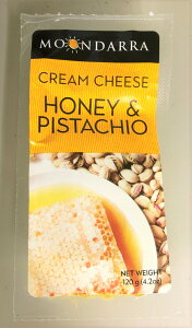 ムーンダラ ハニー&ピスタチオ クリームチーズ 120g x8個セット 冷蔵