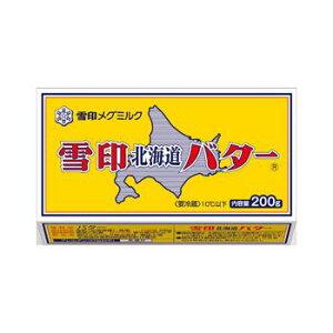 雪印北海道バター 200g【冷蔵】x 10個セット