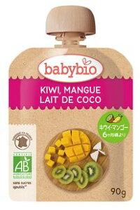 オーサワ baby bio 有機ベビースムージー(キウイ・マンゴー・ココナッツ)90g