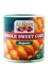 スイートコーン缶詰 340gアリサン ALISHAN alishan