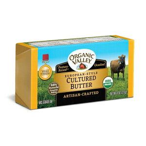 オーガニックバレー ヨーロピアンスタイル発酵バター(無塩)227g 冷蔵 アリサン alishan