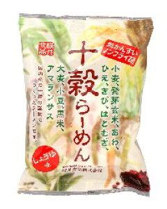 十穀らーめん・しょうゆ味 〈ノンフライ〉 88g 桜井 ムソー muso