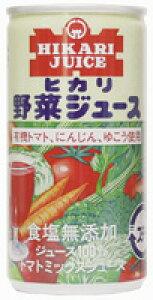 ヒカリ 野菜ジュース(無塩) 190g オーサワジャパン