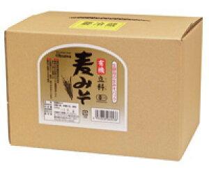 有機立科麦みそ3.6kg箱入 オーサワジャパン