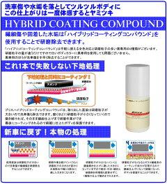 超高性能ガラス繊維系コンパウンドブリスハイブリッドコーティングコンパウンド100ml全色対応