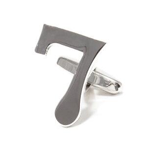 【メール便可10】 カフスボタン 数字 ナンバー7カフスボタン cuffs メンズ レディースカフスボタン CF-156653 [ユニーク 人気 おしゃれ 面白い プレゼント ギフト ]