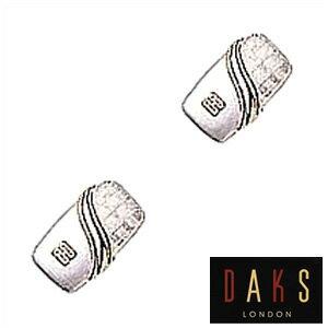 DAKS LONDON カフスボタン ダックス カフス メンズ アクセサリー メンズ DC10027 彼氏 誕生日 プレゼント ギフト ブランド フォーマル 就職祝い 結婚式 面接 送料無料
