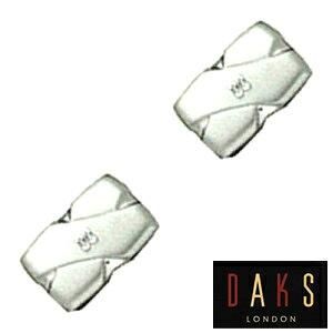 カフスボタン DAKS LONDON ダックス カフリンクス カフス メンズ 紳士用 アクセサリー ビジネス フォーマル 結婚式 専用ボックス DC7028 彼氏 誕生日 プレゼント ギフト ブランド フォーマル 就職