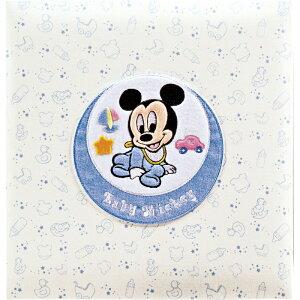 フエルアルバム ベビーミッキー&フレンズアルバム<ミッキー>[ア-LB-617-1](C4076570)お祝い プレゼント 引き出物 内祝い 記念品 おしゃれ ディズニー 出産祝い 結婚祝い かわいい フォトフレ