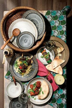 サウサリート大皿/黒【25x3cm】【plate,sausalito,madeinjapan】【bloom-plus】