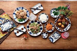 南風大皿/アダン【23.5x3cm】【大皿,南風,なんぷう】【plate,nanpu,madeinjapan】【bloom-plus】