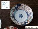 美濃焼/単売/ギフト対象外 間取錦草花中鉢【径16x高4.5cm】【bowl,made in japan】【染錦古伊万里】【bloom-plus】