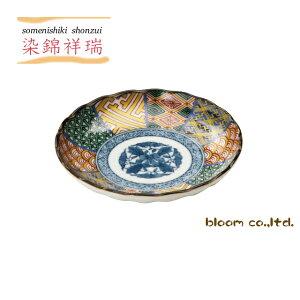 美濃焼染錦祥瑞小皿径12.5x2.5cm小皿12cm和食器祥瑞tablewaredishmadeinjapanbloom-plus
