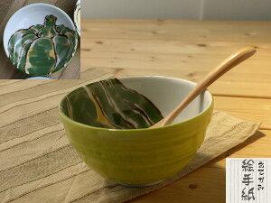 美濃焼 単売 ギフト対象外 絵手紙小丼 かぼちゃ【径13.5x高7.5cm】【Bowl madeinjapan】【bloom-plus】