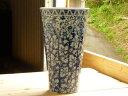 美濃焼 アウトレット ギフト対象外染付更紗反型花瓶 高さ28.5cm【flower,vase,made in japan】【bloom-plus】