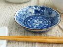 美濃焼アウトレット/ギフト対象外染付香味皿【径9.5x高2.5cm】【藍,ネジリ祥瑞,小皿,醤油皿】【tableware,dish,made in japan】【bloom…