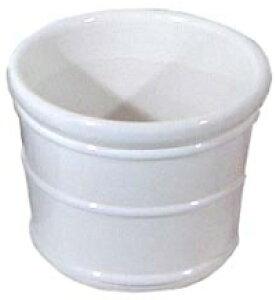 ハイドロカルチャー ビッグサイズ用 陶器鉢(ホワイト)