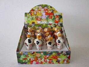 ウォーターキーパー(うし・いぬ・ぶた)かわいい人形がガーデニングのお手伝いをしてくれます。大変な毎日の水やりがとても楽になり、また鉢のお花をかわいく飾ります。