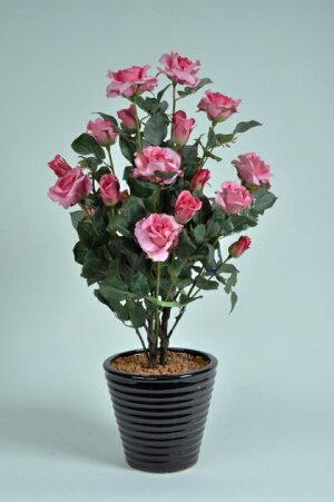 ばら(バラ・薔薇)2本立(ピンク)光触媒とアミノ酸のダブルコーティング消臭力と抗菌力を発揮するアートフラワー(造花)【smtb-s】