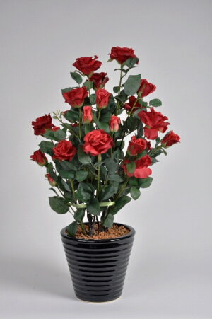 ばら(バラ・薔薇)2本立赤(レッド)光触媒とアミノ酸のダブルコーティング消臭力と抗菌力を発揮するアートフラワー(造花)【smtb-s】