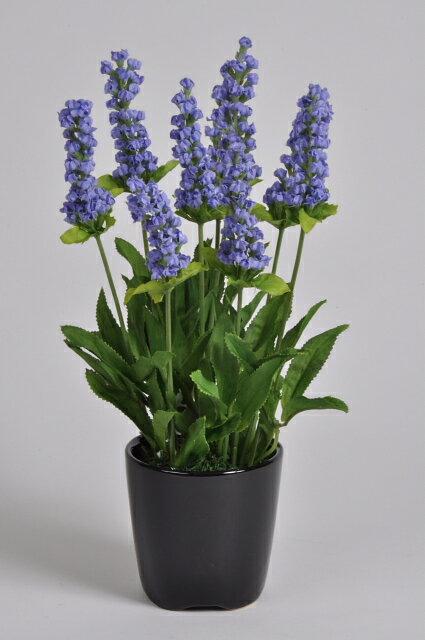 ラベンダー 紫 1本 光触媒アートフラワー(造花) 贈り物・母の日・新築祝・開店祝・誕生日・記念日・卒業式・入学式・ギフト・お歳暮・お年賀に