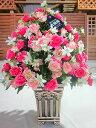 豪華な光触媒 アートフラワー アレンジ Bタイプ 送料無料 空気清浄機 造花 アレンジ 母の日 インテリア 贈り物 ギフト お誕生日 記念日…