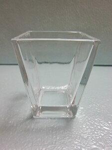 スクエアベース(小) 5個セット 小物入れ 硝子 ガラス グラス ガラス製 ガラスケース 花瓶 ハイドロカルチャー 水耕栽培 観葉植物 お中元 お歳暮 母の日 プレゼント ギフト 敬老 インテリア