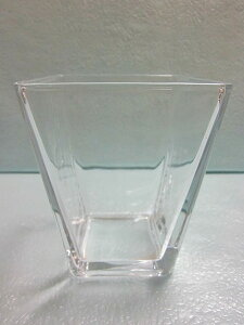 スクエアベース(大) 5個セット 小物入れ 硝子 ガラス グラス ガラス製 ガラスケース 花瓶 ハイドロカルチャー 水耕栽培 観葉植物 お中元 お歳暮 母の日 プレゼント ギフト 敬老 インテリア