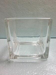 ブロックガラス 7.7cm 10個セット 小物入れ 硝子 ガラス グラス ガラス製 ガラスケース 花瓶 ハイドロカルチャー 水耕栽培 観葉植物 お中元 お歳暮 母の日 プレゼント ギフト 敬老 インテリア