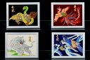 金彩 四神(4枚セット)高級感漂う金彩絵に「青龍・白虎・朱雀・玄武」を職人が一枚一枚心を込めて丁寧に作り上げた作品です。素材に最…
