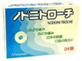 ノドニトローチ 24個入【正規品】【医薬部外品】 のどに 喉に