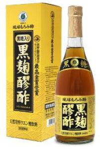 琉球もろみ酢 黒糖入り 黒麹醪酢 720ml 瓶