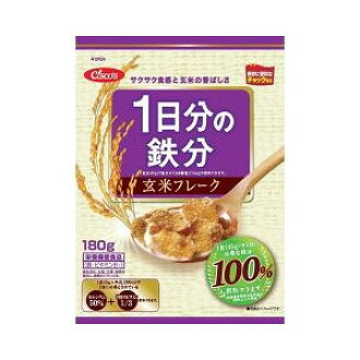 180 g of iron content unpolished rice flakes for 1st