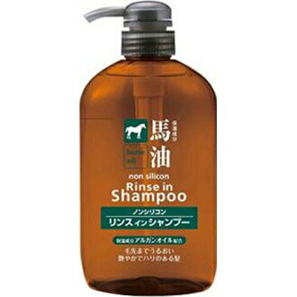 ★ Horse Oil Shampoo 600 ml baryu as Ayu silicone free
