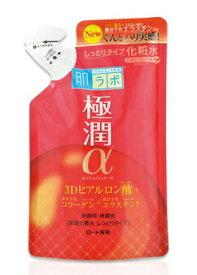 肌ラボ極潤α 3Dヒアルロン酸保湿化粧水 しっとりタイプ つめかえ用 170ml【正規品】