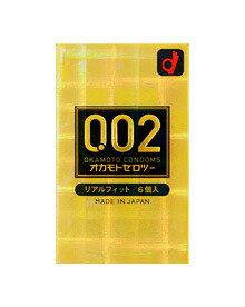 オカモト ゼロツー 0.02ミリ リアルフィット 6個入り 【正規品】