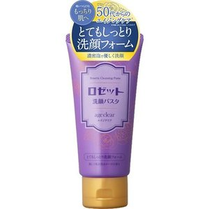 ロゼット 洗顔パスタ エイジクリア とてもしっとり洗顔フォーム 120g 【正規品】