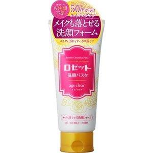 ロゼット 洗顔パスタ エイジクリア メイクも落とせる洗顔フォーム 150g 【正規品】