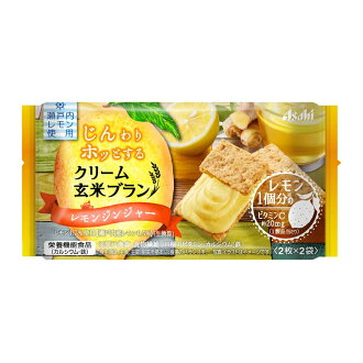 아사히그르프 식품 크림 현미 브랑 레몬 생강 72 g