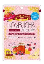 【5個セット】ユーワ KOMBUCHA STICK 2g×7包 コンブチャ スティックトロピカルベリー風味×5個セット 【正規品】 ※軽減税率対応品