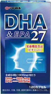 友和 DHA EPA27 120 胶囊