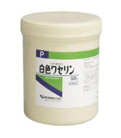 【第3類医薬品】 ケンエー 白色ワセリン P 500g 健栄製薬  【正規品】