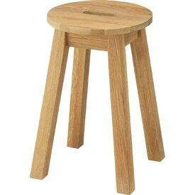 スツール ラウンドスツール 腰掛椅子 いす 花台 スクエア 木製 天然木 北欧 カフェ テラス 玄関 丸スツール