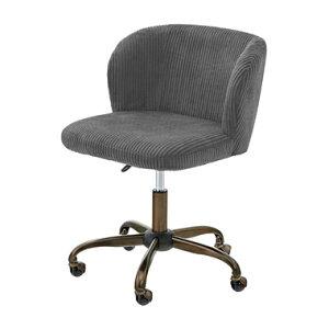 椅子 イス オフィス チェアー キャスター レトロ アンティーク チェア PCデスク ボールキャスター リビング ダイニング ロール デスクチェア