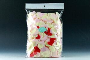 ハートインフラワーシャワー パーティーサイズ ピンク 1袋(約780枚入り)
