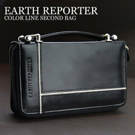 セカンドバッグ クラッチバッグ メンズ EARTH REPORTER アース リポーター 牛革ミニセカンドバッグ ER-104 ホワイト 送料無料 クリスマス ギフト プレゼント 贈り物